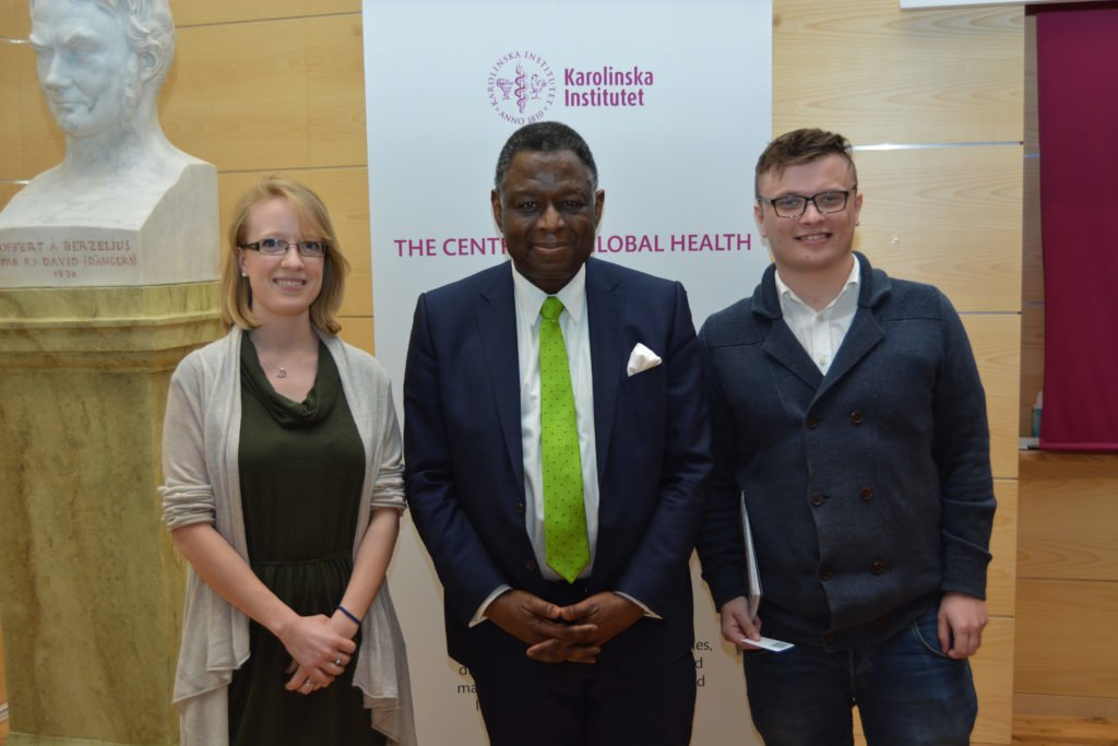 Emily Clark (Science Editor) and Radek J. Góra (Associate Editor) had the pleasure to interview Dr. Babatunde Osotimehin, Executive Director of the United Nations Population Fund (UNFPA). Photo by Katarina Stojanovic