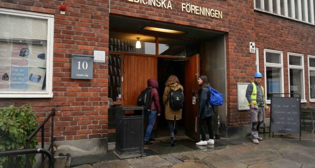 Medicinska Föreningen Union House is planned to get renovated and a fundraiser is in place