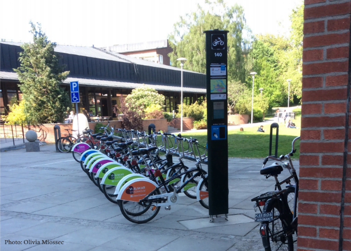 City Bikes at Campus Solna